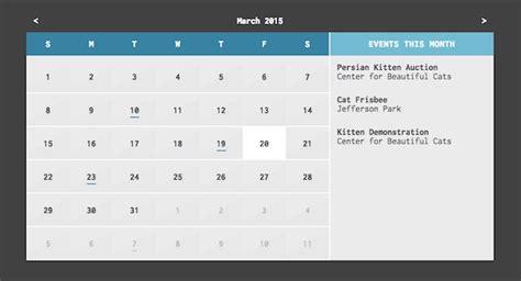 calendar design using jquery 14 top calendar and date picker jquery plugins learning