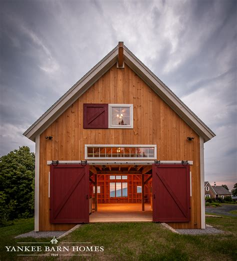 Coastal Cottage Plans custom barn home