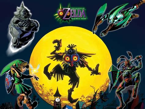 imagenes 3d zelda the legend of zelda majora s mask confirmado para