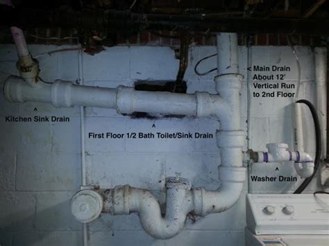 Plumbing System Repair Suggestions   83 Year old house