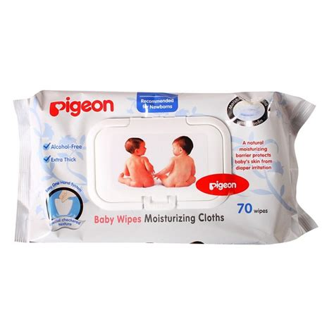 Pigeon Wipes Chamomile Refill 70s pigeon baby wipes moisturizing 70 s 2pkt