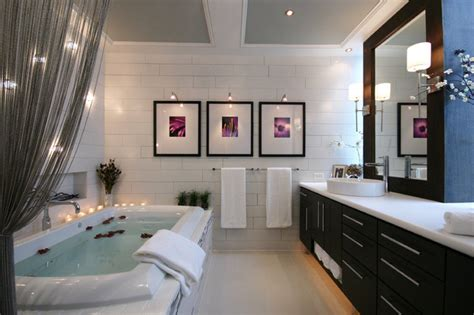 Modern Luxe Bathroom Contemporary Bathroom Charlotte Modern Bathroom Houzz