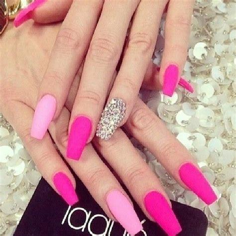 Enkel Nageldesign by 25 B 228 Sta Matte Pink Nails Id 233 Erna P 229 Matta