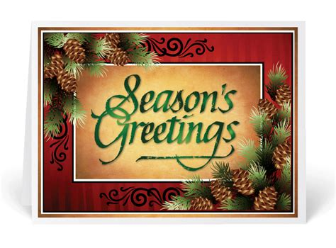 traditional greetings traditional season s greetings card 36004