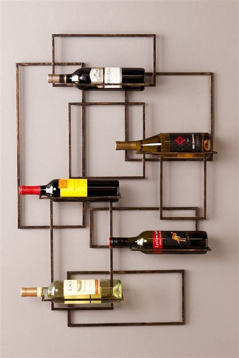 decorative wall wine racks 17 best ideas about wine wall decor on wine