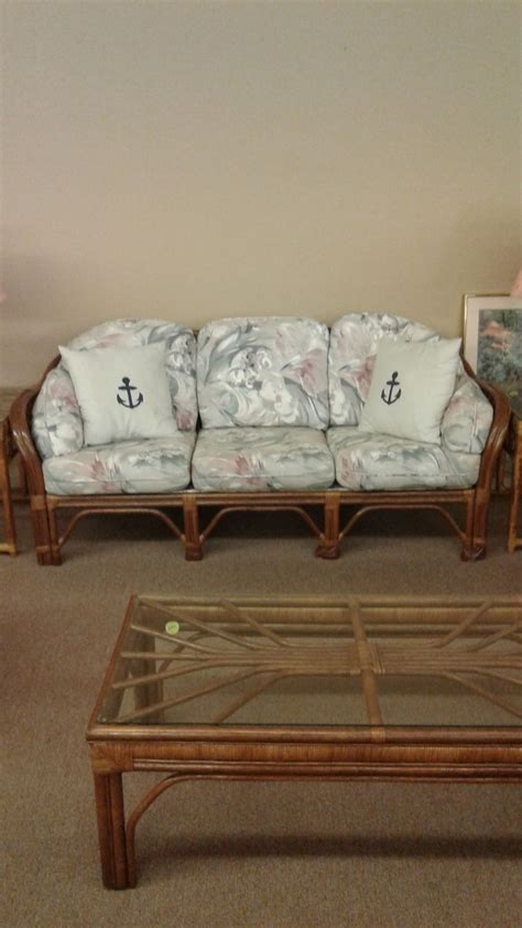 bench craft sofa bench craft rattan sofa delmarva furniture consignment