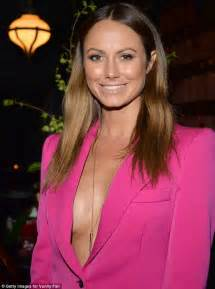 stacy keibler old stacy keibler and rumer willis showcase cleavage in very