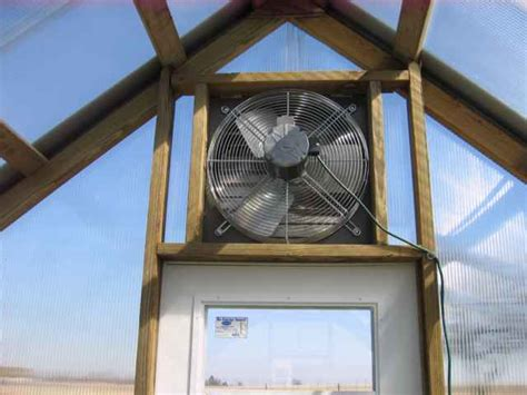 greenhouse exhaust fans with thermostat better built barns greenhouses better built barns