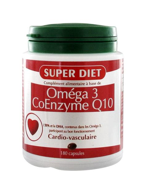 Willl Coq10 Help Detox by Diet Omega 3 Coenzyme Q10 180 Capsules Cocooncenter