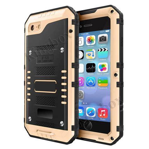 ip68 waterproof drop proof alloy metal cover for iphone 6 7 8 plus ebay