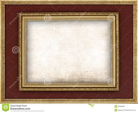 paper picture frame template paper sheet and picture frame royalty free stock photo