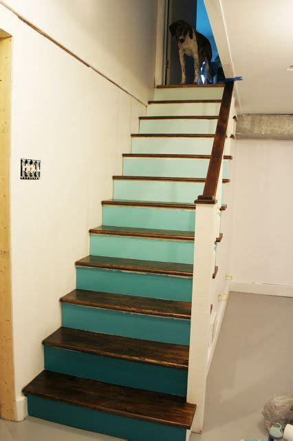 1000 ideas about basement staircase on open