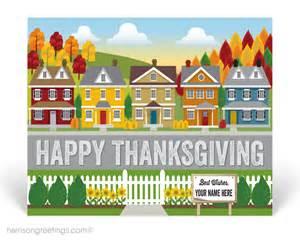 real estate thanksgiving postcard for realtors houston real estate best real