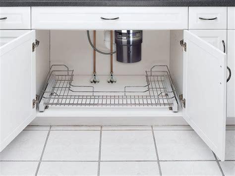 rev a shelf under pull out chrome caddy rev a shelf 5486 34cr chrome 5486 series u shape under