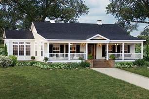 House Plans With Front Porch One Story Sun Room And Wrap Around Porch On A Single Story Cabin
