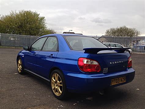 subaru impreza wrx sale used 2003 subaru impreza wrx for sale in lancashire