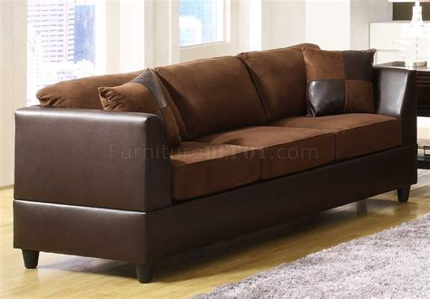 dark brown microfiber sofa chocolate rhino microfiber dark brown bi cast sofa w options