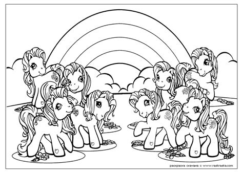 coloring pages of my pony my pony coloring page coloring home