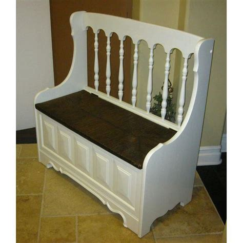 tall back bench tall back white cottage rush seat bench chairish