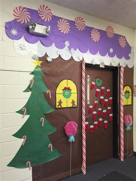 Gingerbread House Door by Gingerbread Door Classroom This Was Our Gingerbread