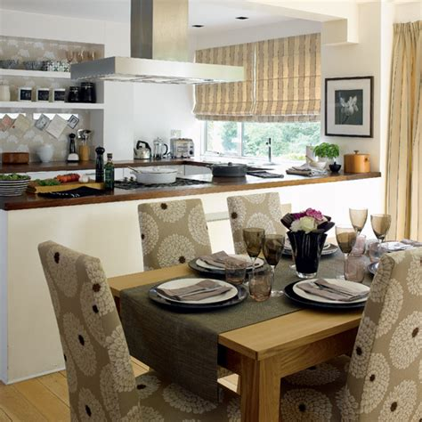 dining room and kitchen ideas open plan kitchen and dining afreakatheart
