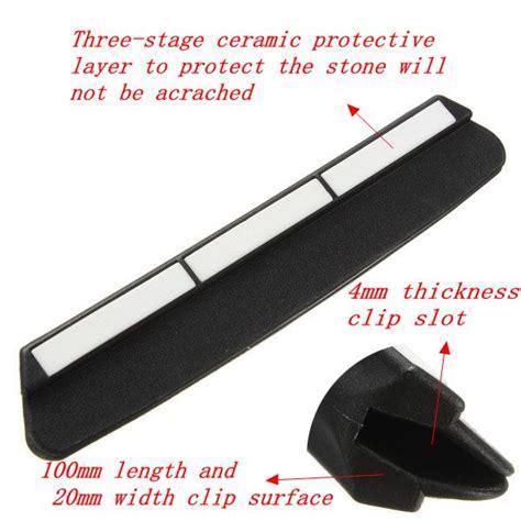 plastic ceramic knife sharpener angle guide for buy knife sharpening angle guide guider holder kitchen