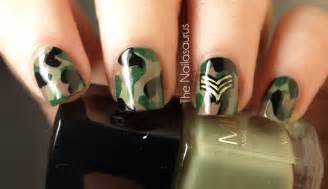 gallery for gt camo nail art
