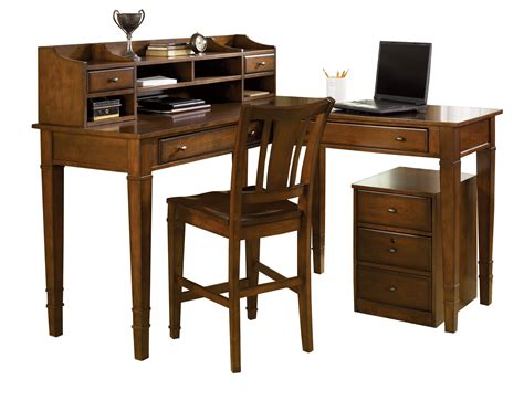 5 counter height corner office desk set