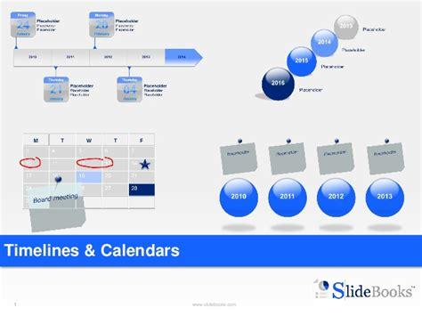 Calendar In Powerpoint Timelines Calendars In Powerpoint
