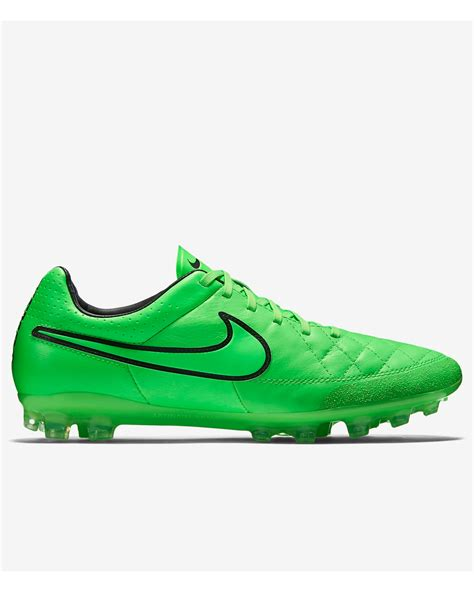 green football shoes football boots shoes nike cleats tiempo green legacy ag r