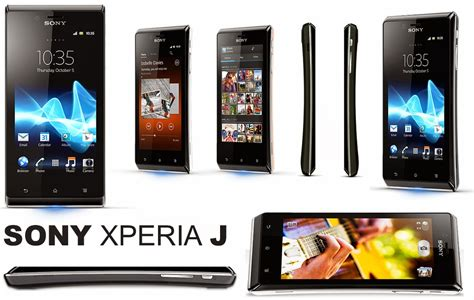 Hp Sony Android Xperia J cara firmware install ulang sony xperia j android interlude