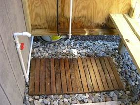 21 things to abot outdoor shower drainage before