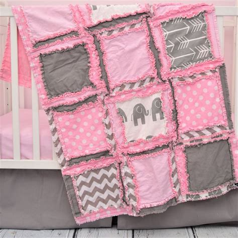 pink and gray elephant crib bedding 25 best ideas about pink elephant nursery on pinterest