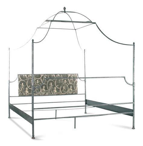 metal canopy bed dalton country rustic metal world canopy bed king