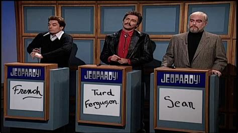 celebrity jeopardy snl french stewart saturday night live jeopardy funnies pinterest