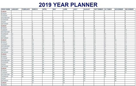 Event Calendar 2019 Template Task Management Template Worksheet Calendar Printable 2019 Planner Template