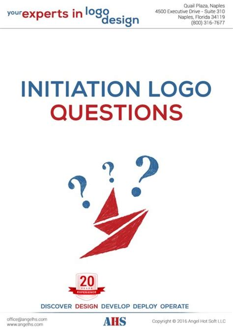 logo development questions ahs logo design initiation questions 2016 2017