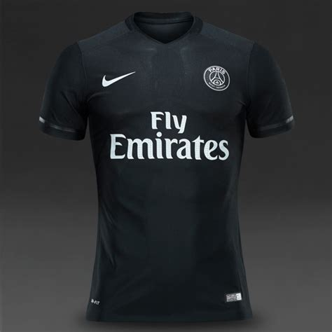 Kaos Black Tshirt Nike F C football shirts nike germain 1516 s s 3rd