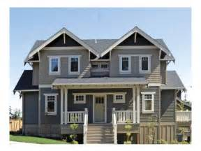 Eplans Com 2 Story Craftsman Bungalow House Plans 2 Story Craftsman