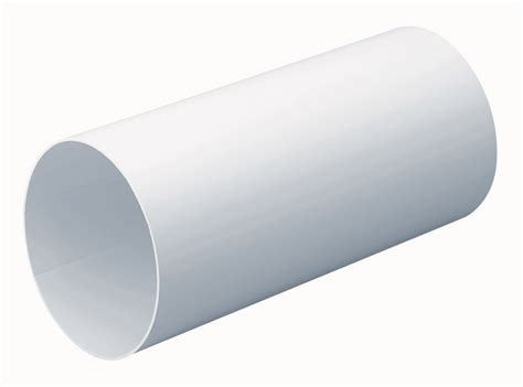 Compair Round Rigid Ducting 1m   Silverline Designer