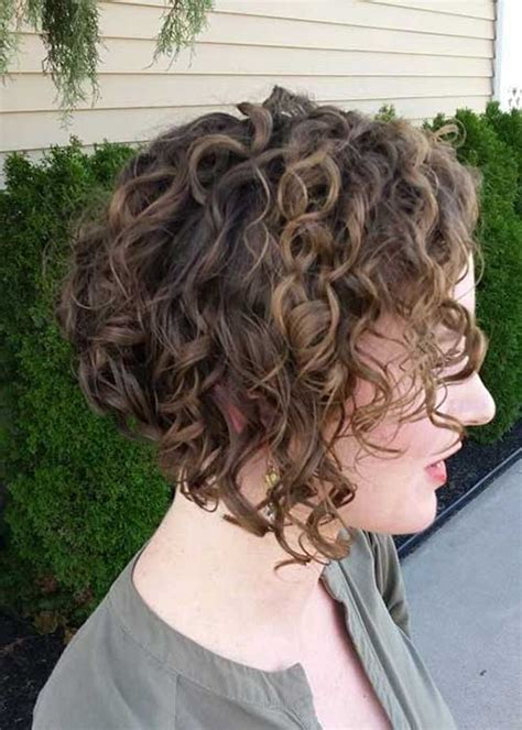 angled bob for curly hair 20 short haircuts for curly hair 2014 2015 short