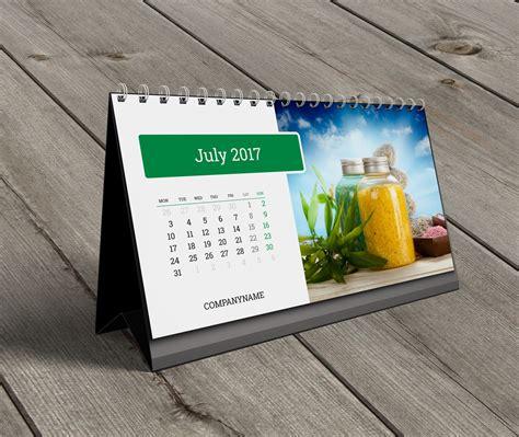 Table Top Calendar Templates