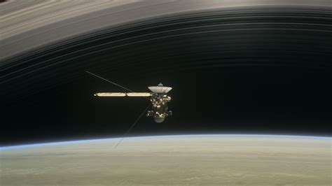 spacecraft orbiting saturn track cassini s moments orbiting saturn next