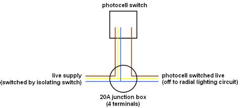 photocell installation wiring diagram wiring a photocell switch unit but not quot inline quot
