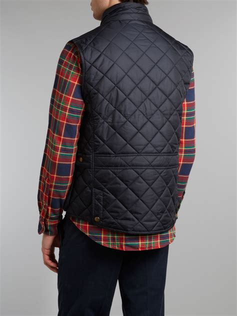 Polo Quilted Vest by Polo Ralph Quilted Vest In Blue For Navy Lyst