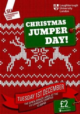 Save The Children Christmas Jumper Day Picture Jumper Day Template Letter