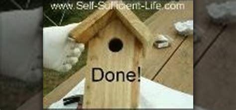 Common Backyard Rodents How To Build A Bird House 171 Birds Wonderhowto