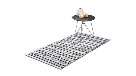 Teppich Laeufer Flur by Teppich L 228 Ufer Flur Handmade Schwarz Wei 223 Muster Kaufen