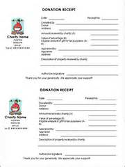 irs donation receipt template form new irs form for charitable donations