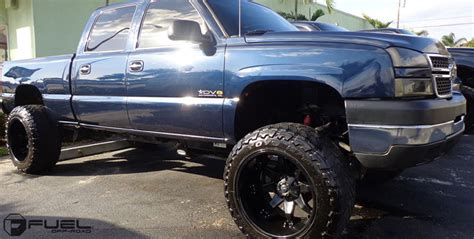 chevrolet silverado  hd octane  gallery fuel  road wheels